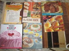 Vintage Gel Cookery Recipe Book Knox Gelatine 1951 Arm & Hammer Robin Hood Flour Betty Crocker Nestle's Booklets Cookbooks by EvenTheKitchenSinkOH on Etsy