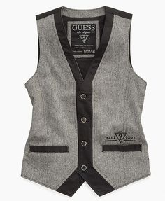 Guess Kids Vest, Little Boys Tweed Vest - Kids - Macy's
