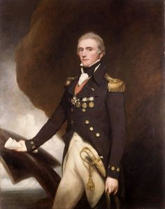 "— Rear-Admiral Sir Edward Berry- John Singleton Copley (c.1820s)""Rear Admiral Sir Edward Berry, 1st Baronet, KCB (1768 – 13 February 1831) was an officer in Britain's Royal Navy primarily known for his role as flag captain of Rear Admiral Horatio Nelson's ship HMS Vanguard at the Battle of the Nile, prior to his knighthood in 1798. He had a long and prestigious naval career and also commanded HMS Agamemnon at the Battle of Trafalgar. He was the only officer in the Royal Nav..."