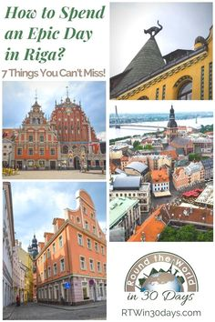 The lovely Latvian capital of Riga may not be on your travel radar (yet!). But if you're in search of an affordable European escape to a beautiful and historic city, look no further than Riga's colorful Old Town. With all the charm and character of its more famous continental neighbors, Riga is considered one of Europe's top budget destinations. Here are 7 things that you simply can't miss when exploring Riga! Plus, where to stay for easy access to it all! #travel #thingstodo #Riga #Europe Best Romantic Getaways, Best Weekend Getaways, Romantic Travel, Best Solo Travel Destinations, Romantic Destinations, Places To Travel, Seaside Village, Seaside Towns, European Destination