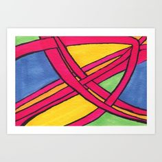 Intertwining Art Print by carog Or, Design Art, Fine Art Prints, Tapestry, Abstract, Gallery, Hanging Tapestry, Summary, Tapestries