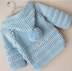 p/men-baby-weaves-stricken-stricken-strickjacke-stricken-babysachen - The world's most private search engine Baby Cardigan, Baby Vest, Knit Vest, Knitting For Kids, Baby Knitting Patterns, Baby Patterns, Knit Baby Sweaters, Boys Sweaters, Crochet Baby