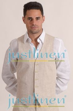 Linen Vests by JL are the latest addition to the Justlinen Collection. Our Vests match all JL linen garments. The new Vest put a finishing touch on your linen ensemble taking it from casual to dressy in a instance.  Great for Sandals Grande Riviera Beach & Villa Golf Resort, in Ocho Rios, Jamaica.