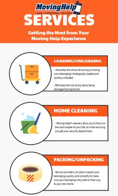 Curious about what is available from our Moving Help® service providers? Get help loading, packing, cleaning and more! Moving Supplies, Packing Supplies, U Haul Truck, Planning A Move, To Focus, Clean House, Aquarium, Cleaning, How To Plan