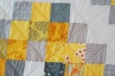 baby quilt maybe?// Sunshine Medallions Downloadable Quilt Pattern PDF