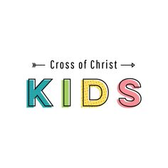 Cross of Christ Kids Ministry Logo on Behance
