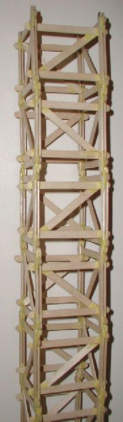 How to Build a Popsicle Stick Tower: 7 steps (with pictures)