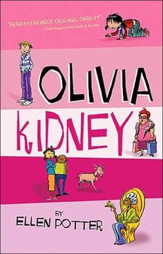 Olivia Kidney by Ellen Potter, Peter Reynolds (Illustrator)