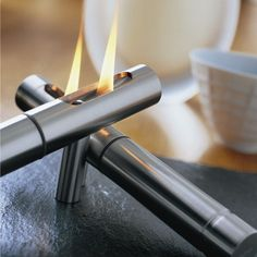 Slate Tabletop Fireplace