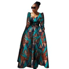 plus size long dress African Clothing for women