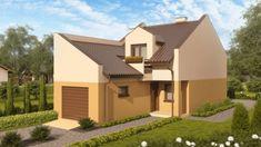 Casa lunga si ingusta cu garaj incorporat