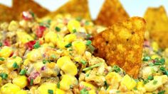 Inspired By eRecipeCards: Doritos Taco Corn Salsa/Salad - Church PotLuck Side Dish