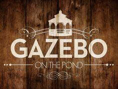 Logo Design for the Gazebo on the Pond Wedding Venue at Bauer Ranch