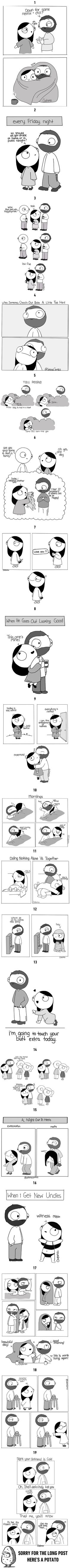 19 comics that are the definition of relationship goals