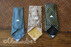 DIY ~ make eyeglass case from men's tie