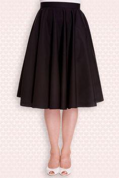 Bunny Navy Blue Swing Skirt 122 31 12050 20140601 0015W