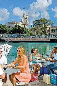 Waterfront Café. Bridgetown, Barbados