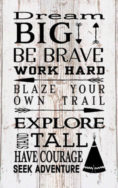 Dream Big Be Brave Explore Subway Art Typography Wood Sign or Canvas Wall Art - Birthday, Nursery, Christmas, New Baby, Baptism by HeartlandSigns on Etsy