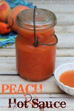 Easy Peach Hot Sauce Recipe