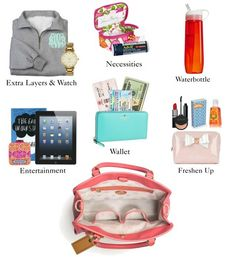 Pearls Please: The Weekender + What To Pack. Awesome list of carry-on essentials!
