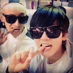 BaekHyun's Instagram with Tao
