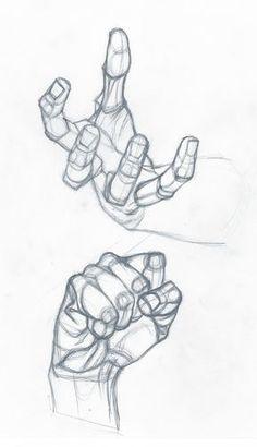 Como desenhar mãos • 02