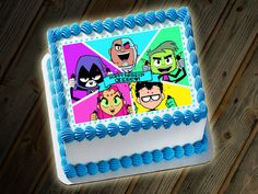 Teen Titans Go Cake Custom Digital File by LittleBennyDesigns