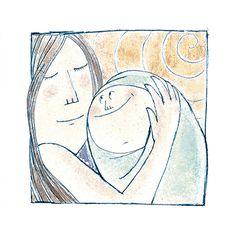Ilustración para el libro infantil El Increible viaje de Santi