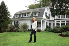 Chappaqua Resident Brenda Kelly Kramer's Project of Moving Her Historic Colonial Cottage Three Miles to her Dutch Colonial Home - Westchester Magazine - November 2011 - Westchester, NY