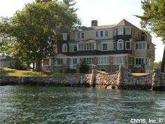 Built in 1895 Ina Island, Alexandria Bay, NY. I <3 the Thousand Islands!