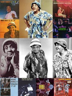 """Jackie """"Moms"""" Mabley (March 19, 1894-May 23, 1975) was an American standup comedian a pioneer of the so-called """"Chitlin' Circuit"""" of African-American vaudeville. She was one of its most successful stars, earning ten thousand dollars a week @ Harlem's Apollo Theater @ the height of her career. Billed as """"The Funniest Woman in the World""""; she also tackled topics too edgy for many other comics of the time, including racism. One of her regular themes was a romantic interest in handsome young…"""