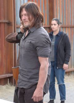 """ Daryl and Tara in The Walking Dead Season 7 Episode 16 
