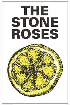 Stone Roses - Lemon - Official Poster