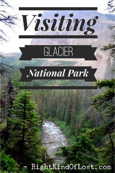 Visiting Glacier National Park, one the country's most beautiful mountainscape. The park is located in northern Montana on the border with Canada. Glacier National Park Montana, Glacier Park, National Park Tours, Us National Parks, Best Places To Camp, Places To See, Vacation Trips, Vacations, Vacation Travel