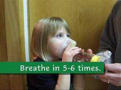 Children with aerochambers Childhood Asthma, Continuing Education, Teaching Tools, Nurses, To My Daughter, Preschool, Children, Youtube, Boys