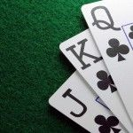 Cartas de poker. Fondo de pantalla.