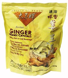 Instant Ginger Honey Crystals Pack of 30 Bags - 18 g Sachets ** Learn more by visiting the image link.