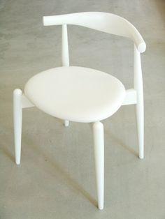 elbow chair by Carl Hansen & Son white - Pesquisa Google