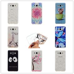 Cartoon Ultra-thin Transparent Soft TPU Silicon Phone Case For Samsung Galaxy J5 2016 J510 J510F Butterfly Floral Back Cover //Price: $US $1.46 & FREE Shipping //     #apple