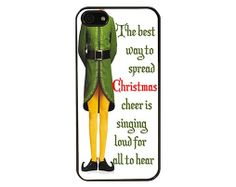 iPhone 5 Case  Funny Christmas iPhone Case A by Casenvy on Etsy, $14.99