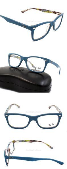 a5f49c020 Eyeglass Frames: Ray-Ban Rb 5228 5407 Eyeglasses Optical Frames Glasses  Blue Multi 50Mm