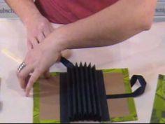 Video Part 2- Karen shows us the steps behind making a Flag Book.