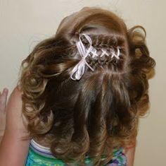 Hairstyles for Girls.. The Wright Hair: Toddler Braids and Ribbons