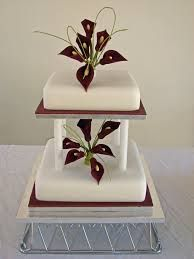 SIMPLE AND ELEGANT 2 TIER CAKE DECORATED IN BLACK AND WHITE FONDANT - Google Search