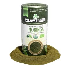100% Organic Moringa Powder (8 oz.)