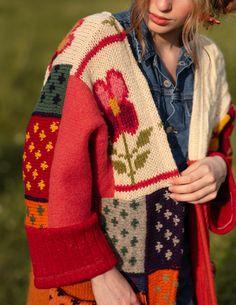 Crochet Woman, Knit Crochet, Crochet Jacket, Crochet Fashion, New Wardrobe, Vest Jacket, Diy Clothes, Mantel, Lana