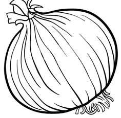 Onion vegetable cartoon for coloring book - Stock Vector , Vegetable Coloring Pages, Fruit Coloring Pages, Coloring Book Pages, Kids Art Class, Art For Kids, Vegetable Crafts, Onion Vegetable, Illustration Cartoon, Vegetable Cartoon