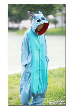 Disney Lio & Stitch Adult Costume Kigurumi Pajamas Cosplay Onesie Pyjamas Onsie Authentic of Disney!XD