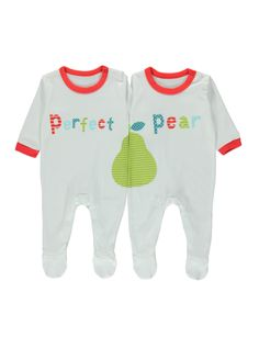 Cutest Twin Baby Outfit - Perfect Pear!