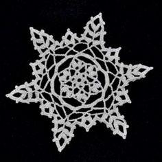 Crochet Snowflake 11  http://fabact.co/christmas/snowflakes/crochetsnowflakepattern11.html